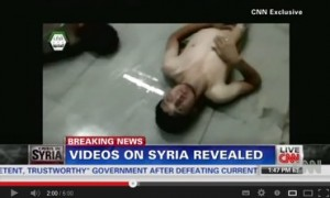 Syrian chemical weapons attack video