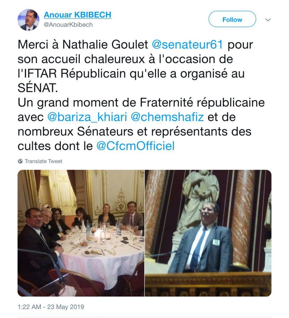 Nathalie Goulet et Anouar Kbibech… et les autres